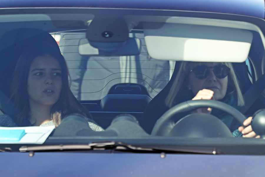 Eugenia Martínez de Irujo junto a su hija Cayetana Rivera