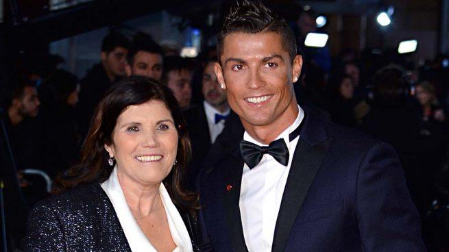 Cristiano Ronaldo y Dolores Aveiro