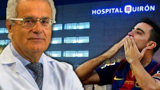 Dr. Ramón Cugat, el traumatólogo de los astros del balón