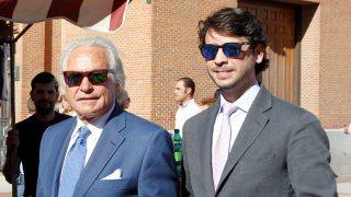 Palomo Linares y su hijo Miguel en una imagen de archivo / Gtres