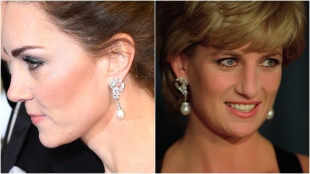 Lady Di Kate Middleton