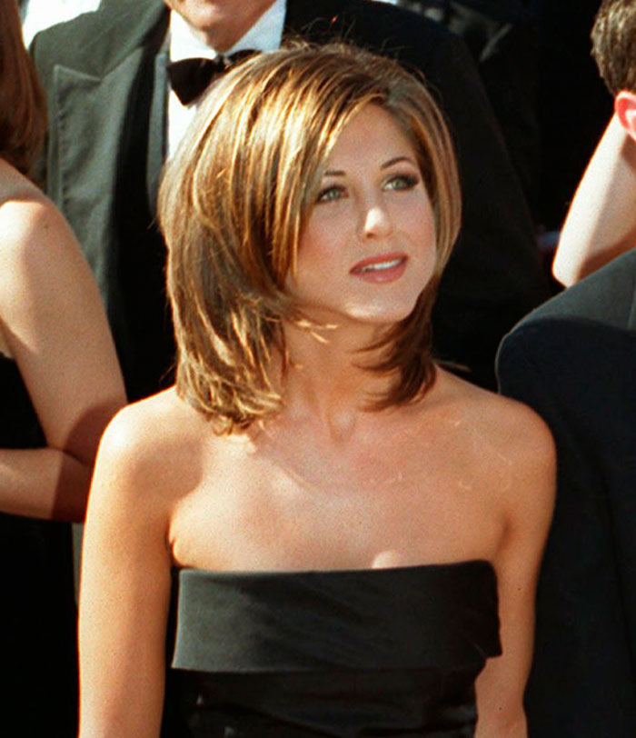 el cambio de imagen de Jennifer Aniston en 25 años