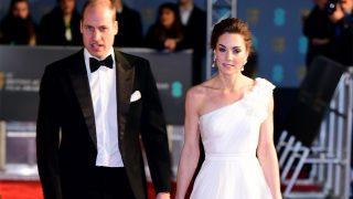 Los duques de Cambridge, a su llegada a los BAFTA / Gtres.