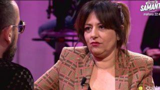 Yolanda Ramos visitó se sentó en el «Chester» de Risto Mejide./Mediaset