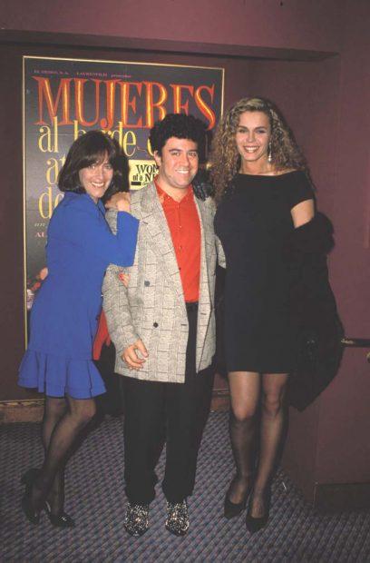 Bibiana Fernández, Carmen Maura, Pedro Almodóvar