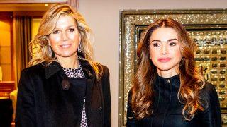 Máxima de Holanda y Rania de Jordania durante su último encuentro / Gtres