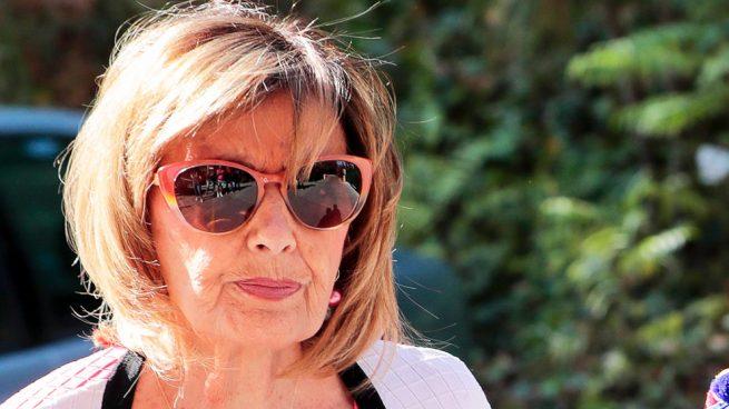 transparencias y otros looks fashion de María Teresa Campos
