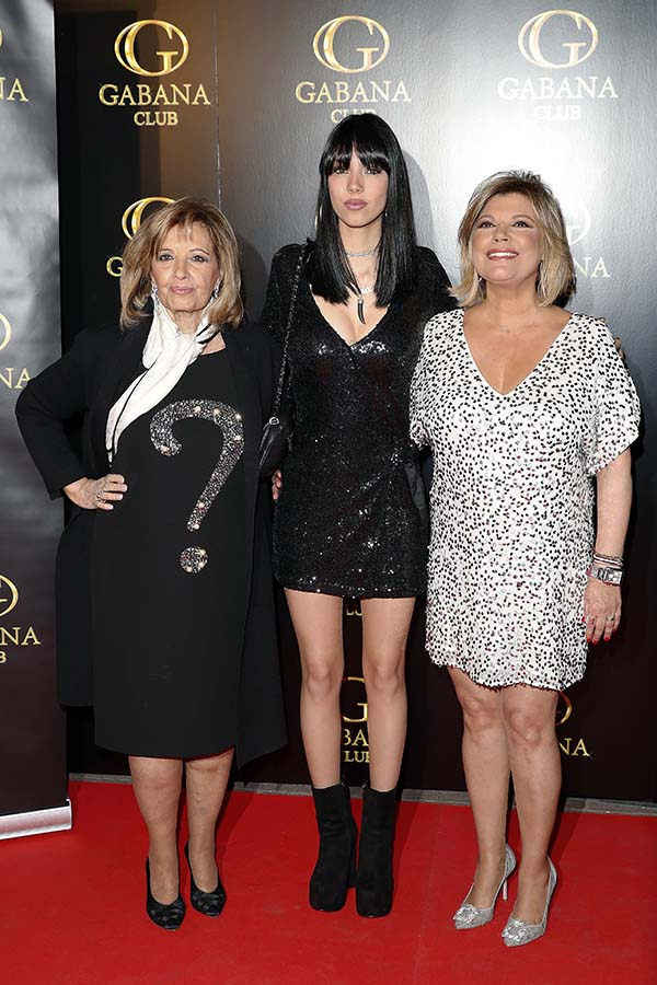 María Teresa Campos junto a Terelu Campos y Alejandra Rubio