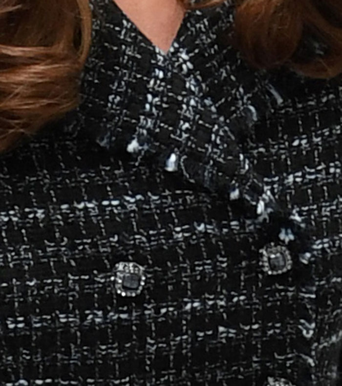 kate middleton look minifalda tweed
