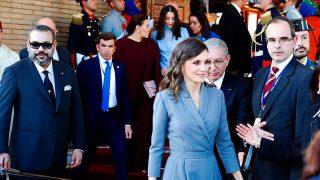 Las hermanas de Mohammed VI hacen piña para recibir a Letizia ante la 'desaparición' de Salma / Gtres