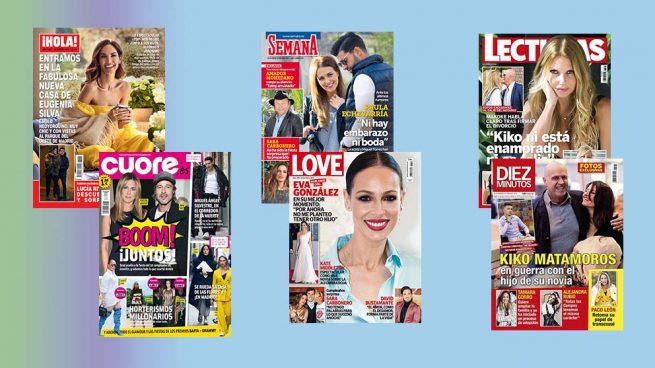 Las portadas del miércoles en el kiosco