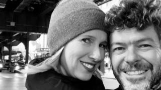Anne Igartiburu y David Heras, amor en redes sociales / Instagram.
