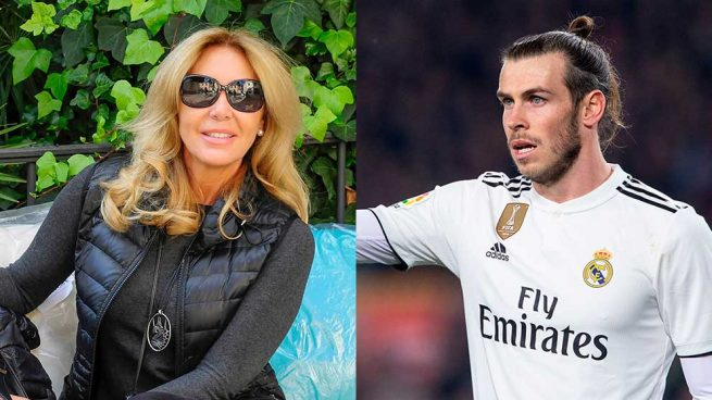 Norma Duval y Gareth Bale