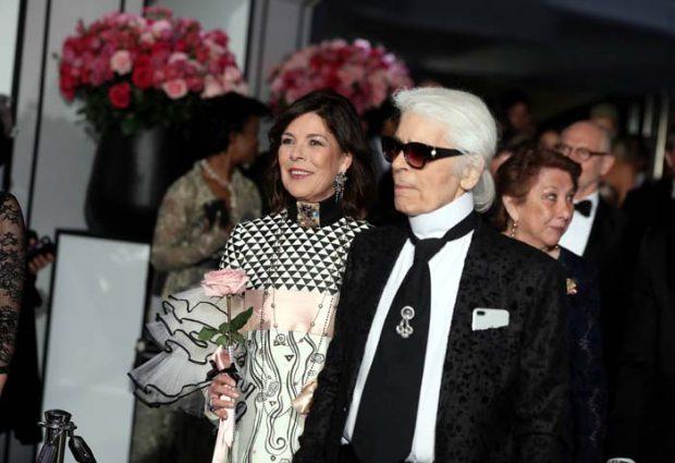 Carolina de Mónaco Karl Lagerfeld