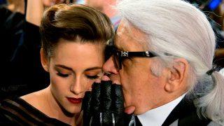 Karl Lagerfeld y Kristen Stewart / Gtres
