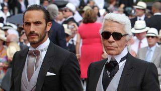 Karl Lagerfeld y Sébastien Jondeau en una imagen de archivo / Gtres