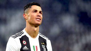 Cristiano Ronaldo, durante un partido con la Juventus / Gtres