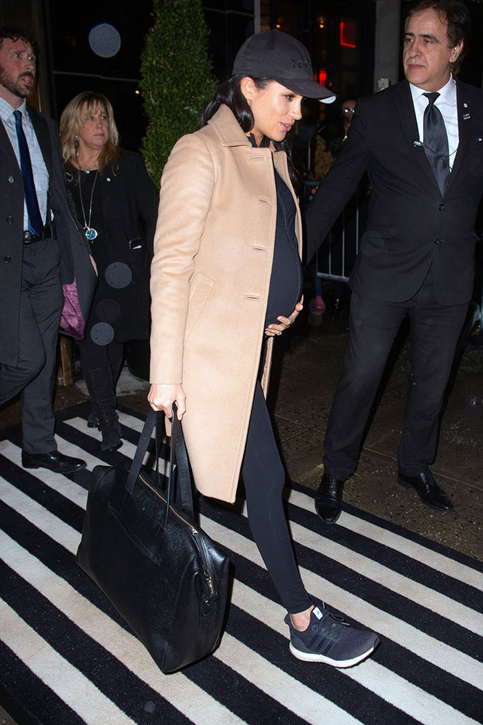 Meghan Markle se viste de famosa en Nueva York