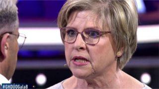 La madre de María Jesús Ruiz ha vivido un momento de alta tensión /Mediaset