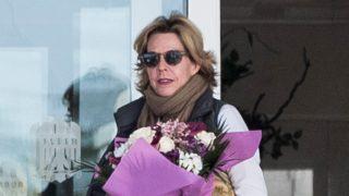 Simoneta Gómez-Acebo ha visitado a su madre este jueves / Gtres