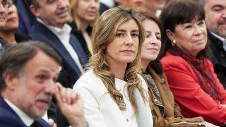 Begoña Gómez en la presentación del libro de Pedro Sánchez /Gtres