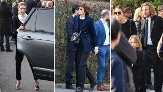 GALERÍA: Familiares y amigos íntimos dan el último adiós a Karl Lagerfeld / Gtres