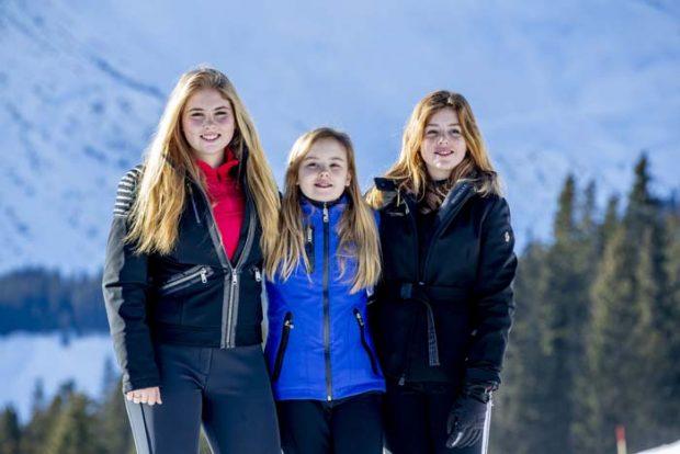Familia real Holanda posado