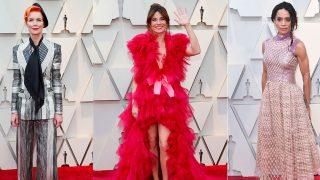 GALERÍA. Las peor vestidas de los Óscar 2019 / Gtres