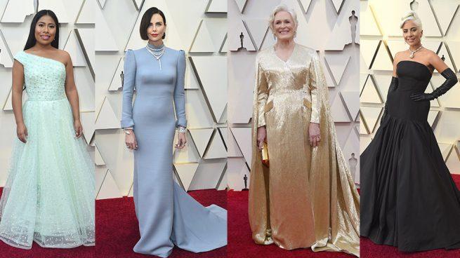 Derroche de glamour en la alfombra roja de los Premios Óscar