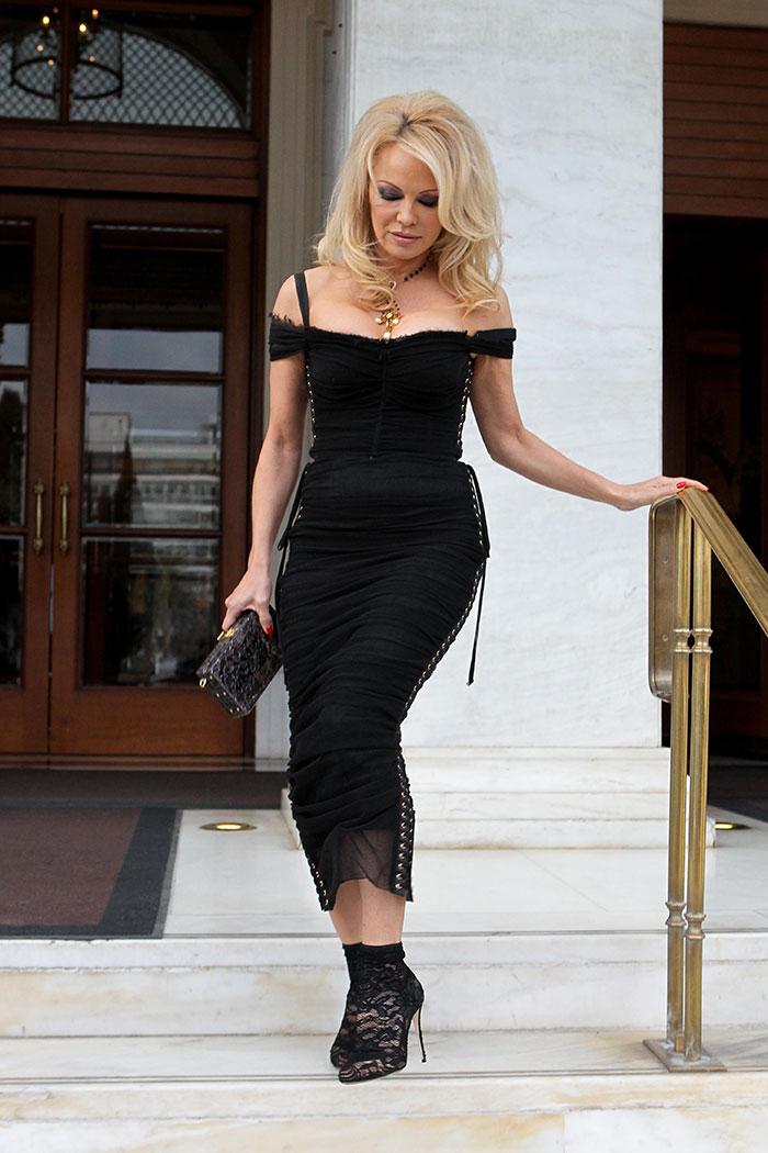 El último cambio beauty de Pamela Anderson
