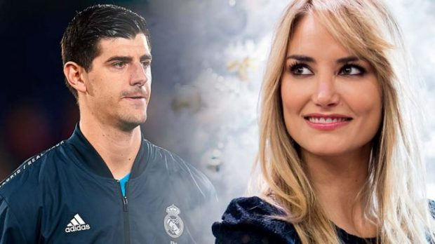 Alba Carrillo, Thibaut Courtois,