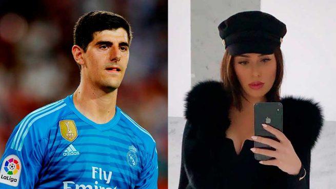 Courtois y Marta Domínguez