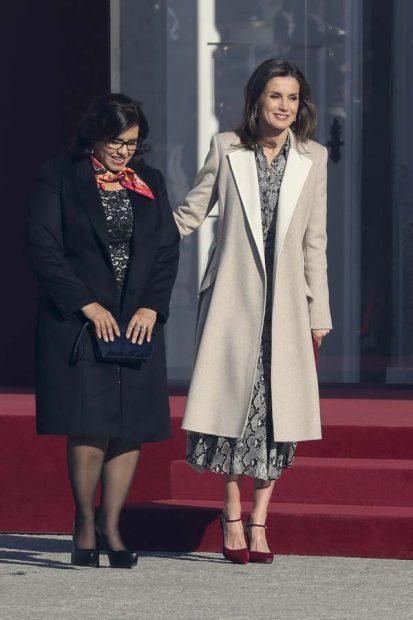 El motivo del llamativo plantón de la Primera Dama de Perú a doña Letizia
