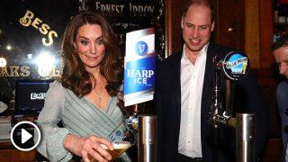Kate Middleton y el príncipe Guillermo se lo pasan en grande / Gtres.
