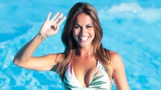Lara Álvarez, simpática y muy atractiva / Gtres