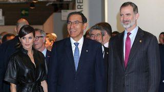 Los reyes Felipe y Letizia, acompañados por el presidente de Perú, Martín Vizcarra, inauguran ARCO 2019 / Gtres