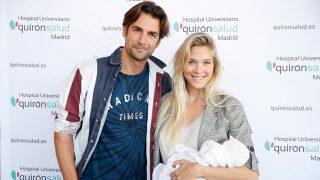 Patricia Montero y Álex Adróver han presentado a su segunda hija / Gtres