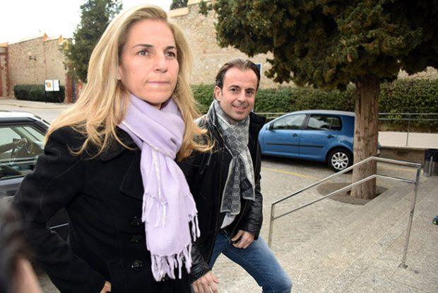 Arantxa Sánchez VIcario. Josep Santacana