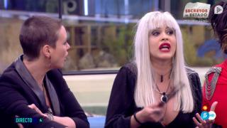 Ylenia discute acaloradamente con María Jesús Ruiz./Mediaset