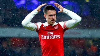 Ver galería: la larga lista de fallecimientos tras un gol de Ramsey / Gtres