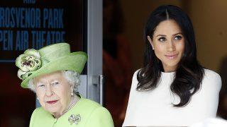 Meghan Markle y la reina Isabel / Gtres