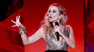 La versión del himno de España de Marta Sánchez es utilizada por un drag queen disfrazado de Franco/ Gtres