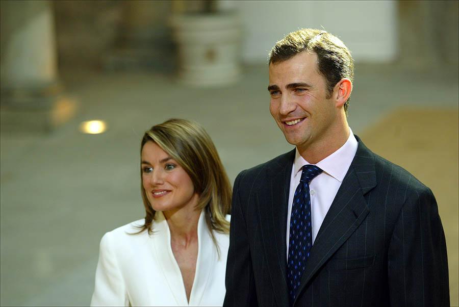 Don Felipe y Doña Letizia anuncio compromiso