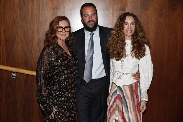Francesca Thyssen , Borja Thyssen y Blanca Cuesta