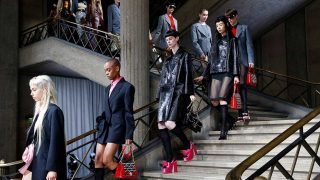 Desfile de Prada en la Semana de la Moda de Milán / Gtres