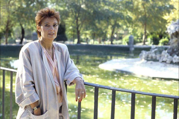 María Teresa Campos: «no puedo ir a la manifestación porque tengo claustrofobia, pero de corazón estoy ahí»