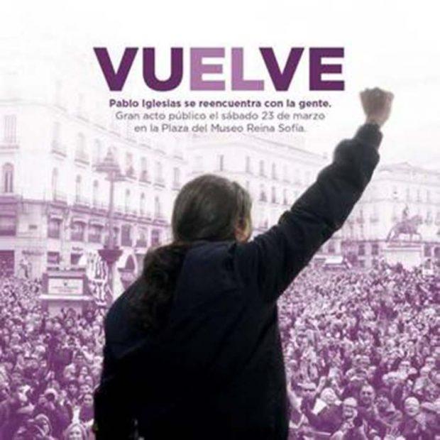 Carmen Lomana aclara su polémica presencia en el cartel promocional de Pablo Iglesias