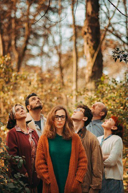 El equipo del musical