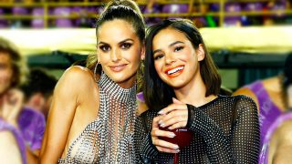 Las modelos  Izabel Goulart y Bruna Marquezine. / Gtres
