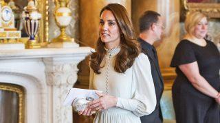 Kate Middleton con el misterioso vestido / Gtres